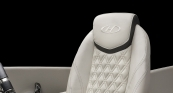 French Gray Helm Seat