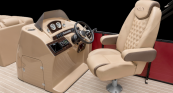 Desert Camel Pillowtop High Back Helm Seat