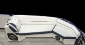 Ivory Cashmere Port Bow Lounger