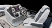 Helm With Pillow Top Silver Gray Interior