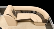 Port Bow Lounger With Standard Desert Camel Interior