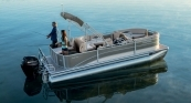 Cruiser 220 FC - Sterling Gray Exterior w/ Platinum Silver Accent. French Gray Interior