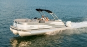 Grand Mariner SL 250 - White Diamond Exterior w/ Platinum Silver Accent. French Gray Interior