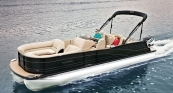 Grand Mariner SL 270 - Ebony Metallic Exterior w/ Black Sapphire Accent. Desert Camel Interior