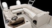 Grand Mariner SL - Rear Seating Area w/ French Gray Interior