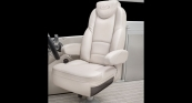 Grand Mariner - UltraLux Helm Seat w/ French Gray Interior