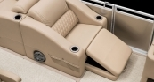 Solstice - Club Chair w/ Footrest out w/ Desert Camel Interior