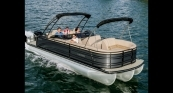 Solstice DC w/ Sterling Gray Exterior, Almond Interior & Double Bimini