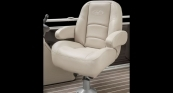 Sunliner - Standard Helm Seat w/ French Gray Interior