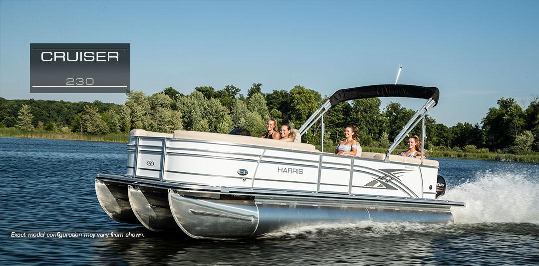 Cruiser 230 Pontoon | Quality Cruising and Fishing Pontoon