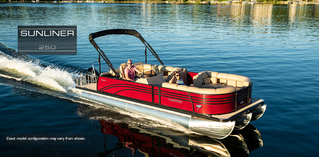 Harris - Sunliner 240 | Practical Family Pontoon Boats For Sale : 2019