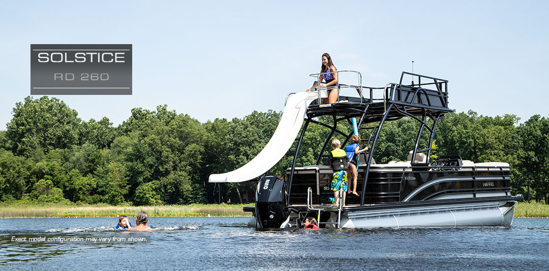 Solstice RD 260 | Recreational Top Deck with Fiberglass