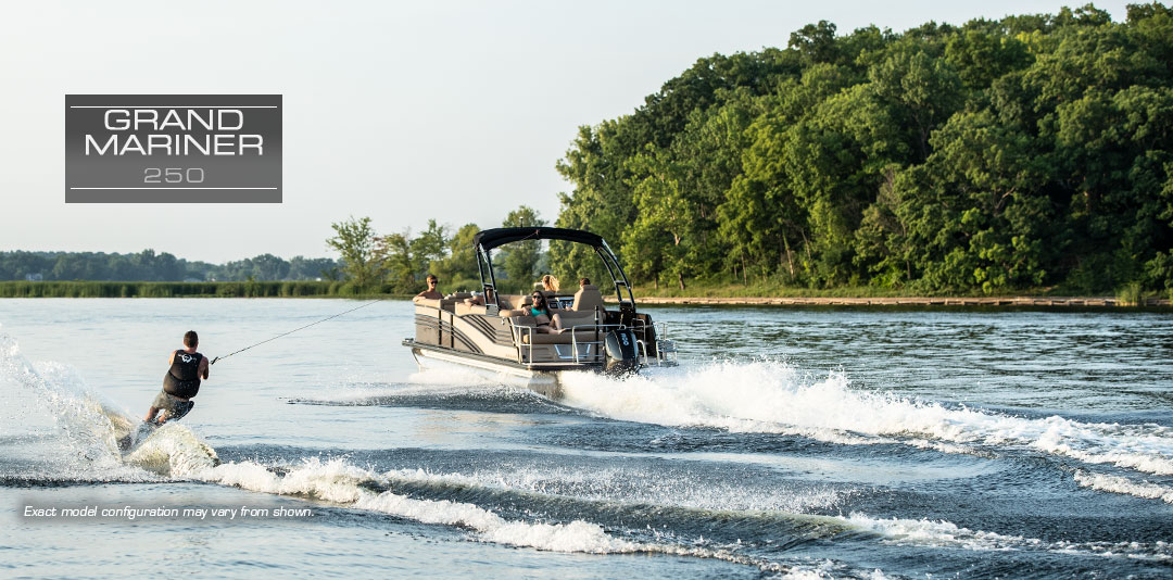 Harris Grand Mariner 250 | Award-Winning Family Pontoon Boat : 2019