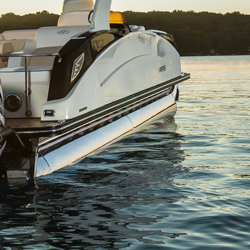 Harris Crowne SL 270 Twin Engine Pontoon | High Performance